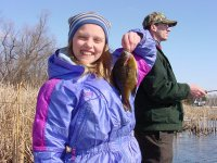Katie Sundin with spring 