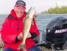 Walleye Sundin with Mercury 4 stroke