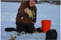 image of jeff sundin with nice crappie