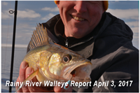 image links to rainy river fishing report