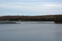 image of pokegama with open water