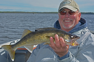 image of Don Hook with Walleye