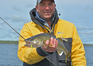 image of cliff hook with walleye