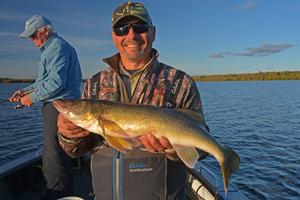 image of Harry with nice Walleye