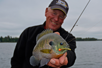 image of jeff sundin with bluegill