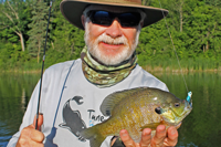 image links to greg clusiau fishing report