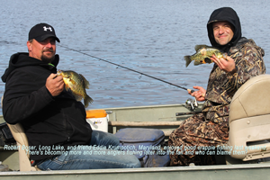 image of men with Crappies