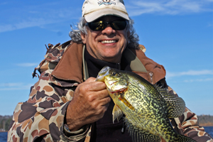 image of greg wil big crappie