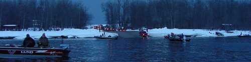 Rainy River Boat Landing At Birchdale 3-28-06