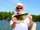 Larry Lashley, Largemouth Bass 7-11-06