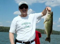 Largemouth Bass David Allan 8-20-08