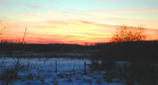 Sunset Deer River 11-28-10