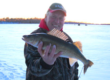 Walleye On Ice