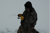 Cutfoot Sioux Ice Fishing