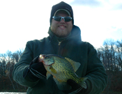 Crappie fishing, Cutffot Sioux