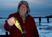 Jumbo Perch Cutfoot Sioux