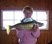 Walleye Fishing Sportmans Lodge