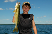 Walleye Connor and Evan