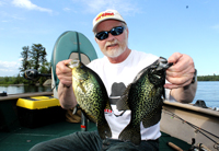 Crappie Fishing Birch Lake