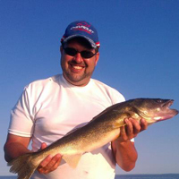 Lead Core Trolling Walleyes