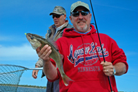 Walleye Fishing Red Lake