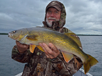Walleye Fishing Deer Lake