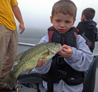 Bass caught by Ryker Leazenby
