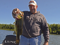 Largemouth Bass caught by Brian Wiese on Pokegama