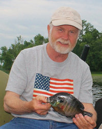 Bluegill caught by Greg Clusiau