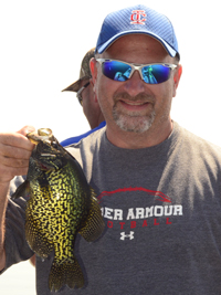 Crappie caught on Bowstring Lake July 2013
