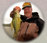 Crappie caught on Big Sand Lake by Larry Lashley