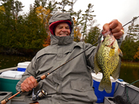 Crappie caught by Bob Carlson