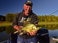 Crappie Guide Jeff Sundin With Nice Crappie