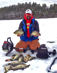 Rainy Lake Crappies