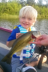 Largemouth Bass caught by Colin Thompson