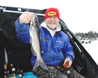 Ice Fishing Catfish