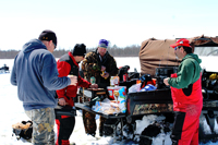 Ice Fishing Shore Lunch