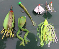 Greg Clusiaus Favorite Bass Baits