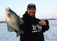 image of Paul Fournier holding Crappie