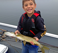 Pike caught by Alec Leazenby