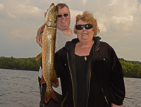 Northern Pike caught by Virginia Sundin