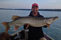 Musky caught by Grant Prokop