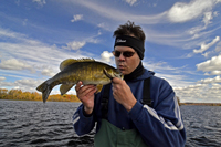 Pokegama Lake Smallmouth Bass caught by Mike Carlson