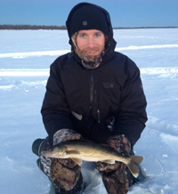 Walleye Ice Fish Winnie