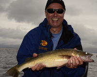 Walleye caught by Tim Swanson