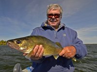 Walleye caught by Dick Williams