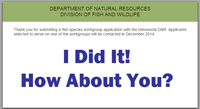 image links to Minnesota DNR Volunteer website