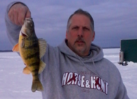 image of Phil Goettl with Cass Lake Perch