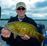 image of Smallmouth Bass caught by Eldon Skoglund