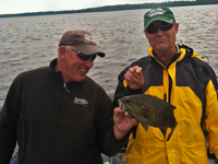 image of Warren Snyder with nice smallmouth bass